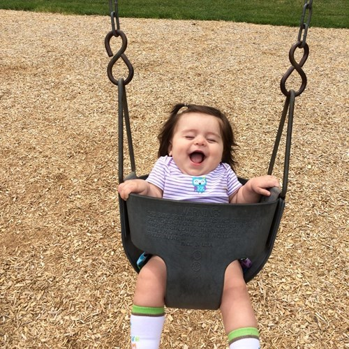 Joy kids expression parenting swing