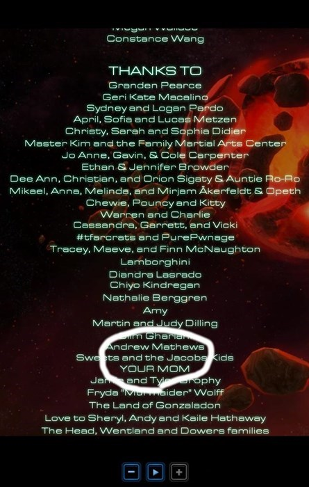 blizzard credits dis starcraft 2 your mom - 8242593792