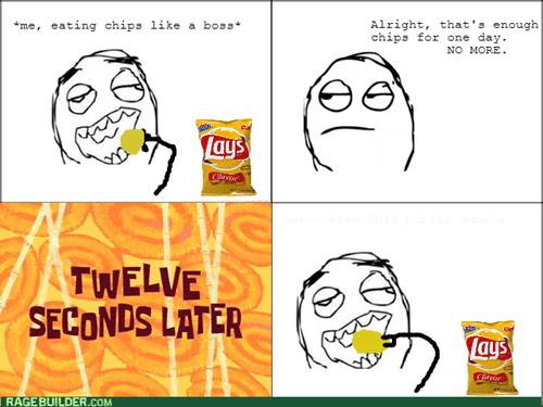 potato chips snacking - 8242623232