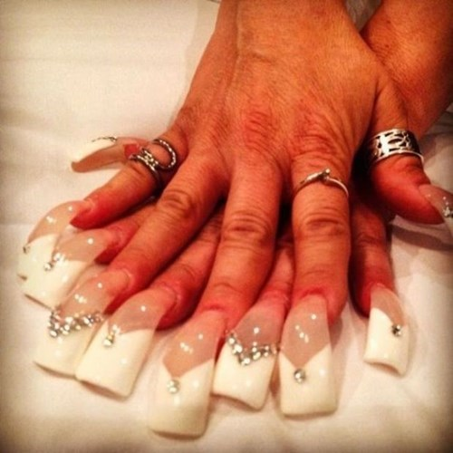 nails nail art poorly dressed rings - 8242662912