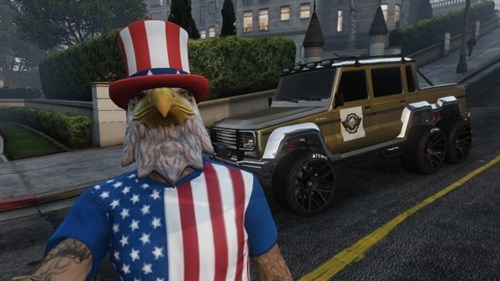 fourth of july,GTA V,grand theft auto v,Video Game Coverage