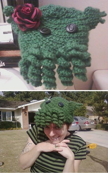 cthulu hats knitting - 8242738944
