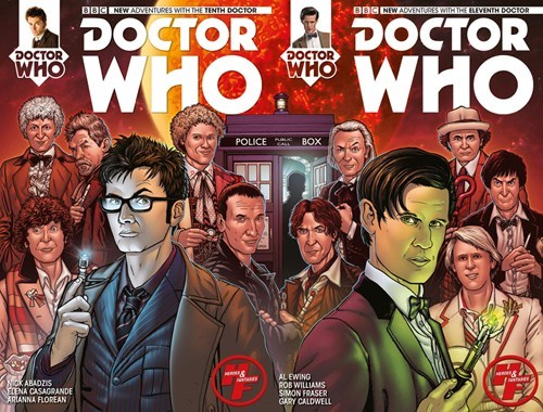 11th Doctor 10th doctor comic books - 8242757376
