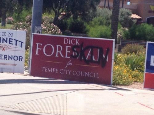 dude parts graffiti politics sign fail nation - 8242809856