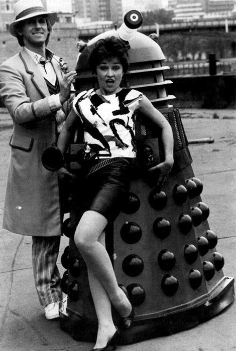 daleks,classic who,5th doctor