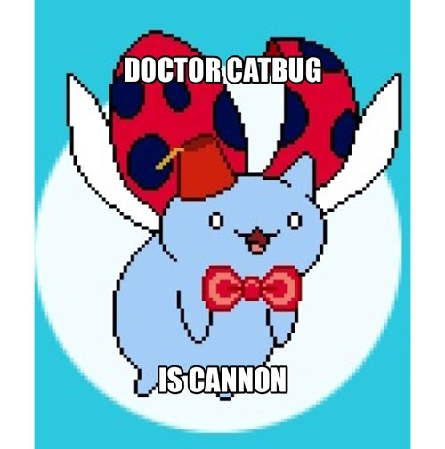 11th Doctor FEZ catbug - 8242836480