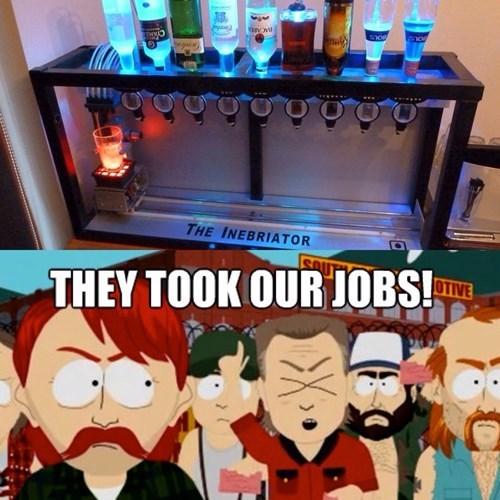 bartender booze cocktails jobs funny - 8243074560
