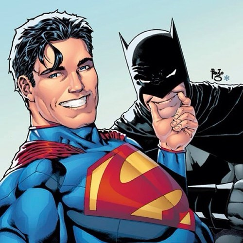 batman,superman,selfie