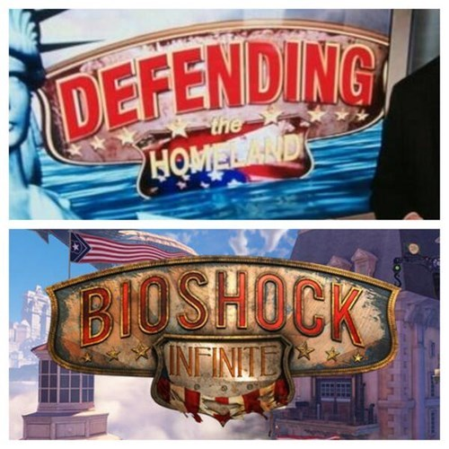 fox news,bioshock infinite,video games,irony,Video Game Coverage