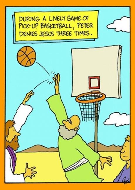jesus puns basketball peter dinklage - 8243757056