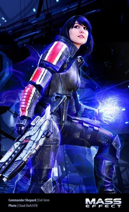 cosplay mass effect femshep - 8243785472
