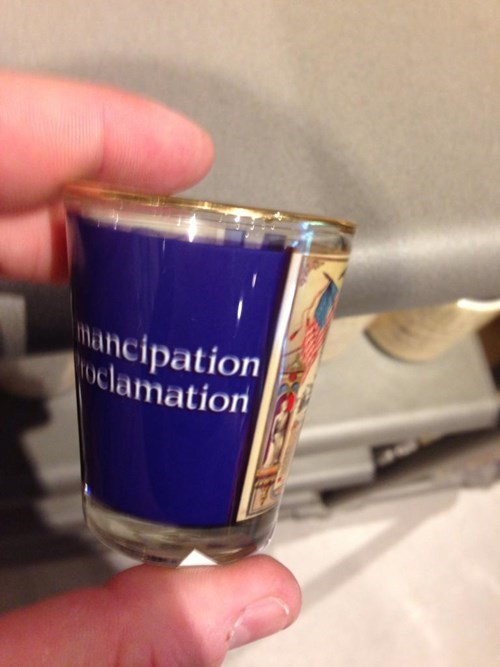 funny freedom shot glasses emancipation proclimation - 8243912448