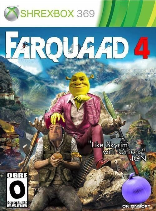 shrek,far cry 4,it's all ogre