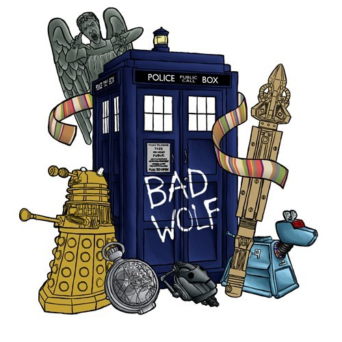 daleks doctor who k9 - 8243984384