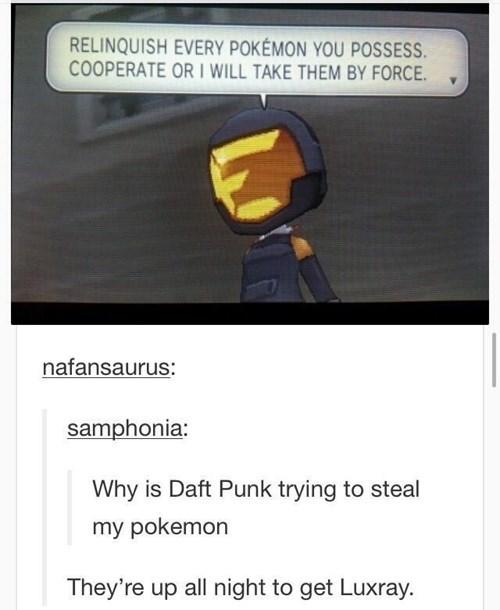 daft punk luxray Pokémon - 8244072192