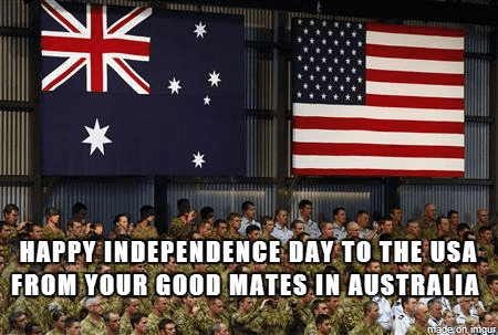 australia fourth of july