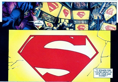 symbol Straight off the Page superman - 8244132864