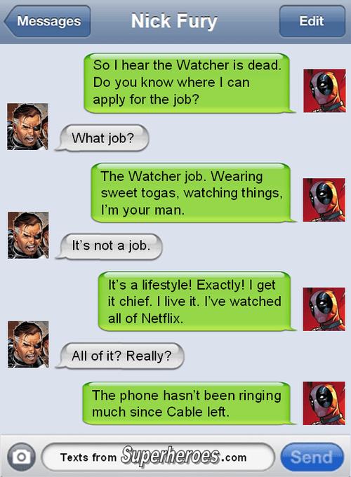 deadpool Nick Fury - 8244141568