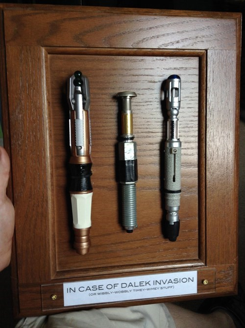 sonic screwdriver,Whovian