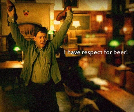 beer respect Russell Crowe funny - 8244174080