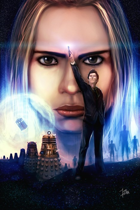 art rose tyler 10th doctor - 8244178176