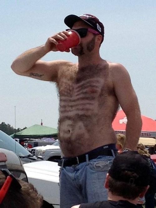 hairy,4th of july