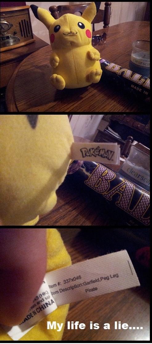 Plushie pikachu wat - 8244464384
