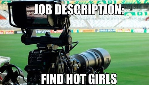 monday thru friday cameraman soccer - 8244478208