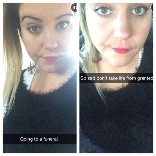 funerals selfie - 8244559360
