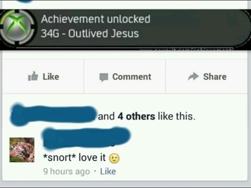 achievement unlocked jesus xbox live burthday