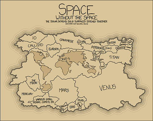 planets xkcd funny space - 8244891904