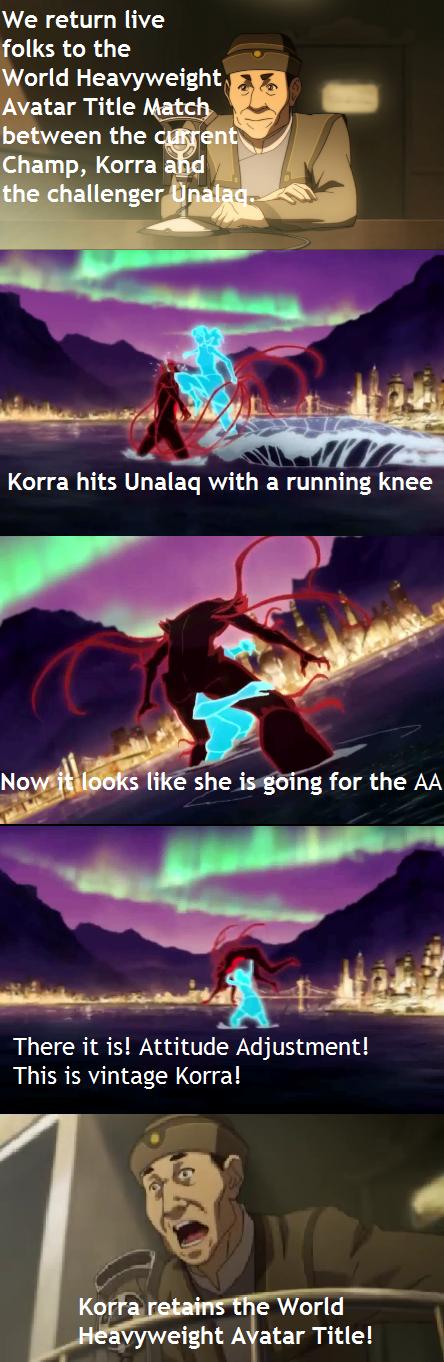 Avatar wrestling korra - 8244979968
