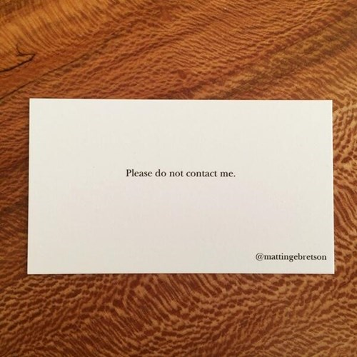 monday thru friday,business card,g rated