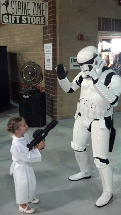 cosplay star wars stormtrooper kids parenting Princess Leia g rated - 8245089536