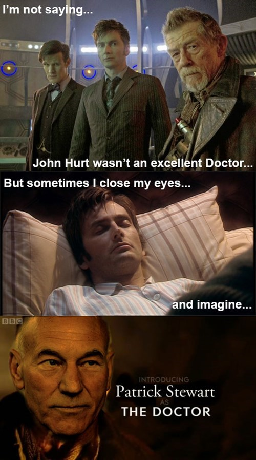 doctor who,patrick stewart
