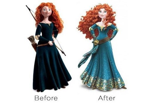 disney merida pixar - 8245712384