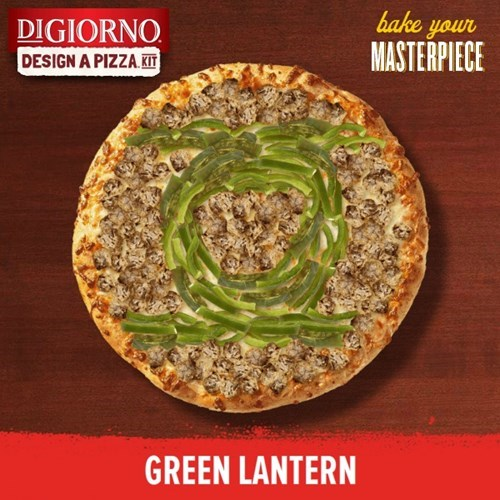 Green lantern pizza - 8246258176