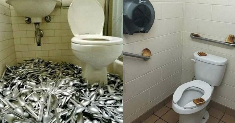 cursed toilets