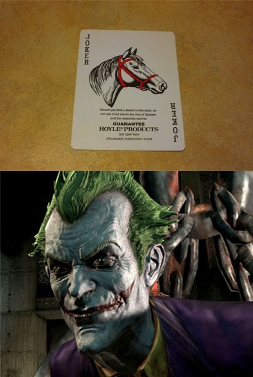 the joker,puns,playing cards