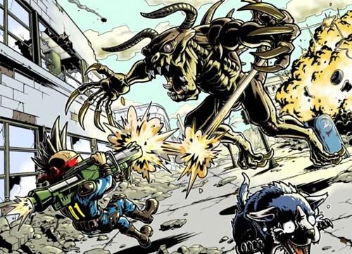 Fan Art fallout 3 manga - 8246409984