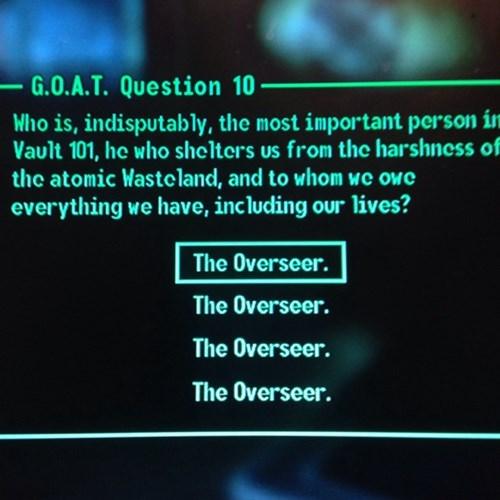 the Overseer the Overseer. - 8246420736