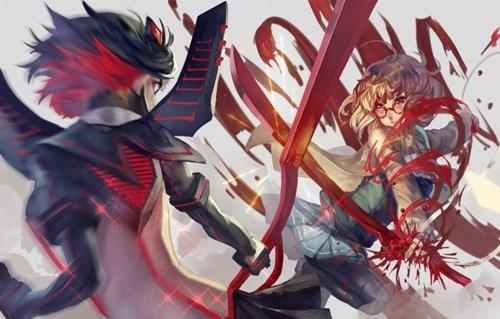 anime Fan Art kill la kill beyond the boundary - 8246532608