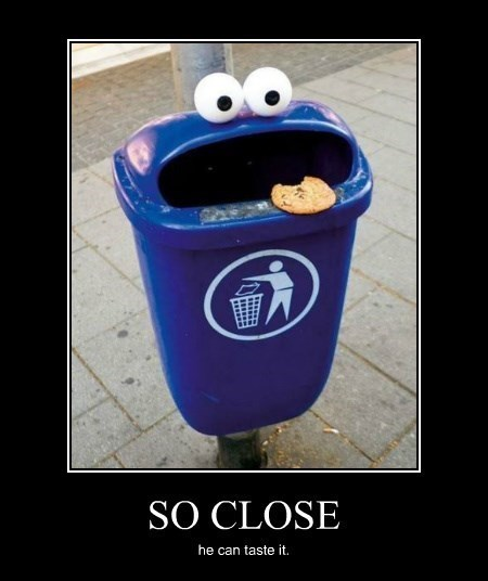 cookies arms Cookie Monster funny - 8246956032