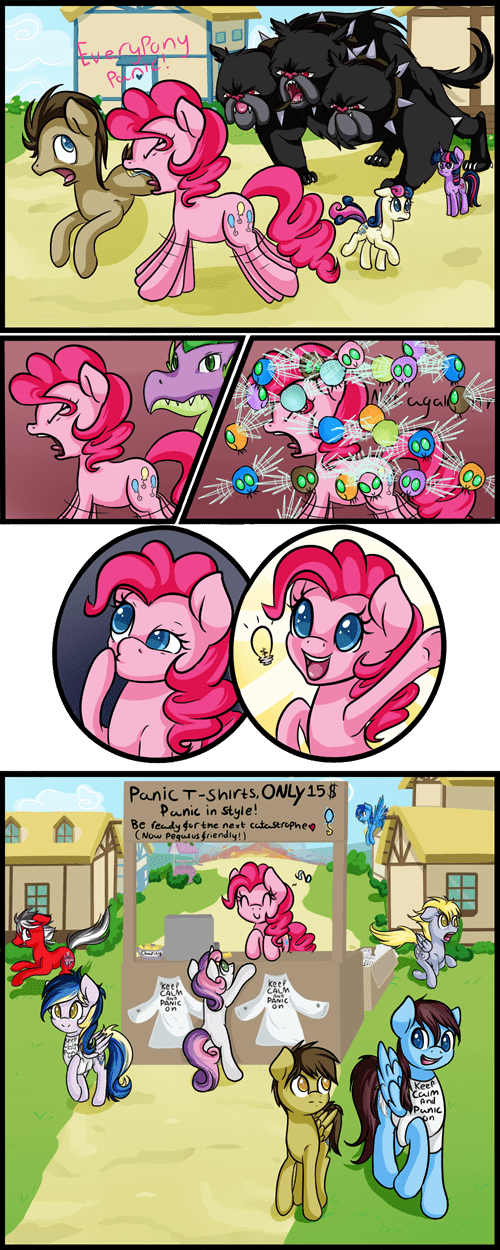 pinkie pie keep calm web comics - 8247077376