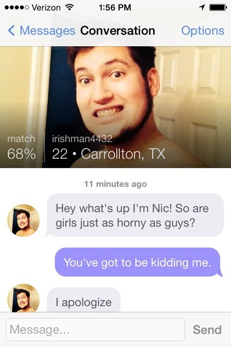 apology idiots online dating wtf - 8247077632