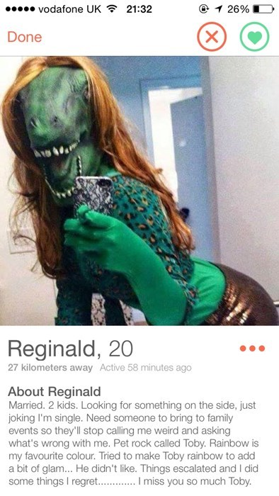 funny online dating keeper reginald