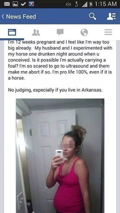 funny idiots pregnant wtf - 8247268864
