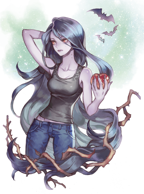 Fan Art,marceline the vampire queen,adventure time