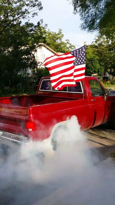 burnout,trucks