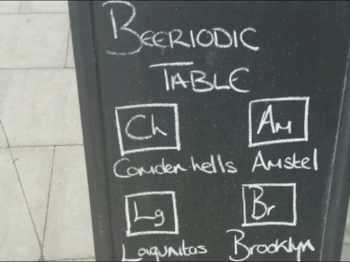 beer funny sign periodic table pub - 8247617024